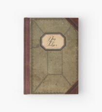 Cuaderno de tapa dura Diario antiguo del libro mayor del día