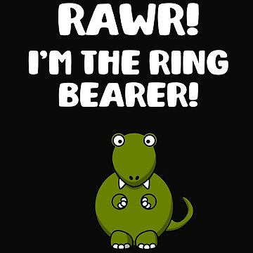 Rawr! I'm The Ring Bearer! Wedding Day by 64thMixUp