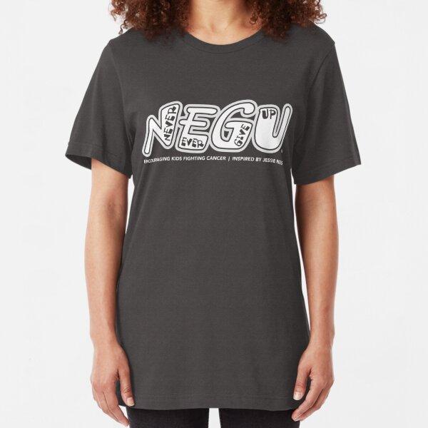 NEGU in White Slim Fit T-Shirt