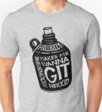 NEW Fun Redneck/Hillbilly Moonshine T-shirt  T-Shirt