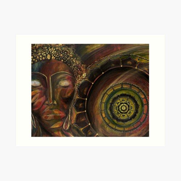 Paint Your Soul V Art Print