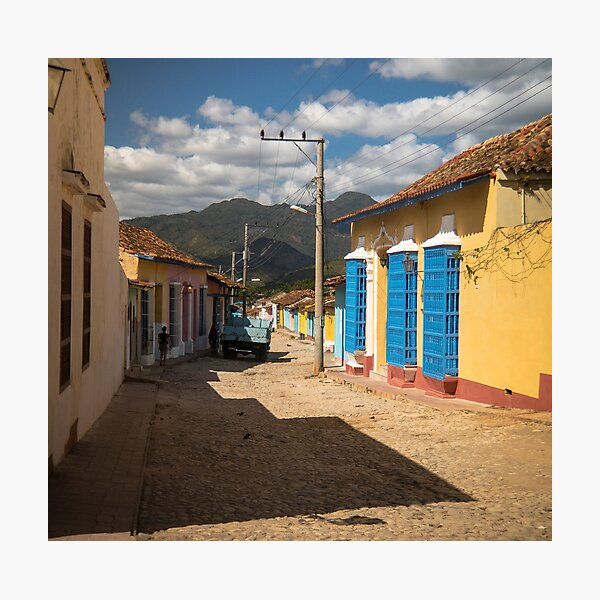 Wonderful Trinidad, Cuba.  A colourful city, at the feet of majestic mountains. Photographic Print