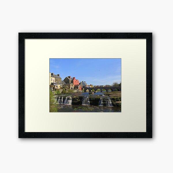 The Falls, Ennistymon, Co Clare Framed Art Print