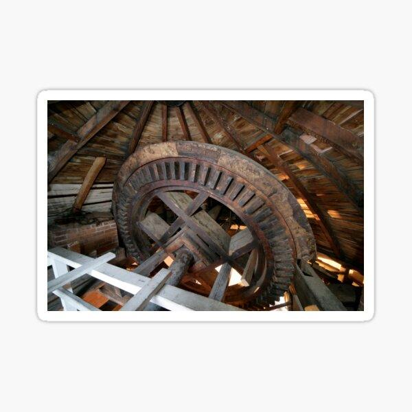 Cley Windmill machinery Sticker