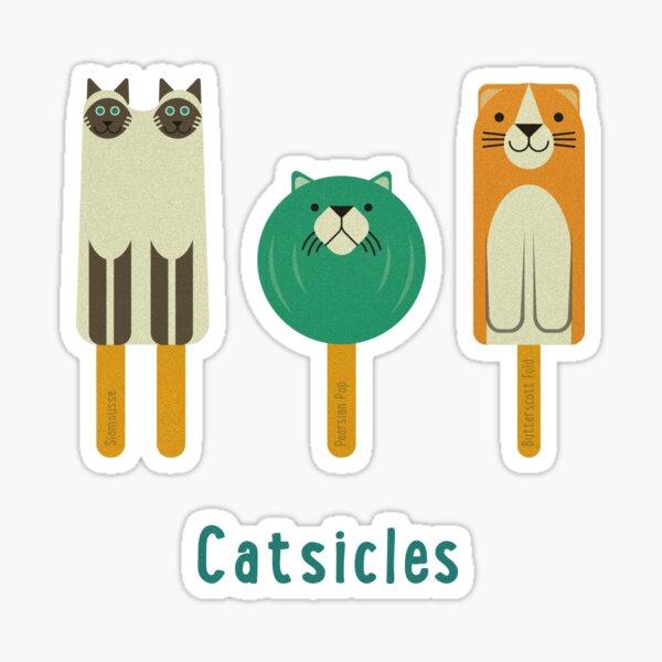 Catsicles II Sticker
