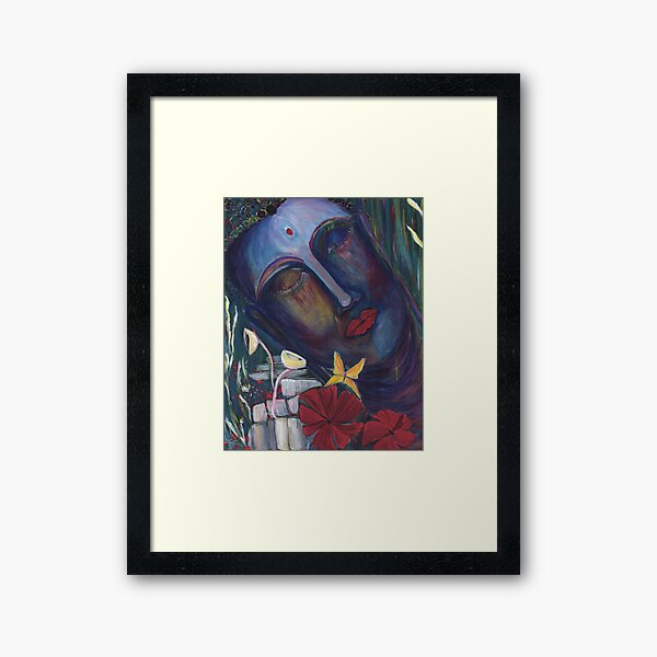 Paint Your Soul I Framed Art Print