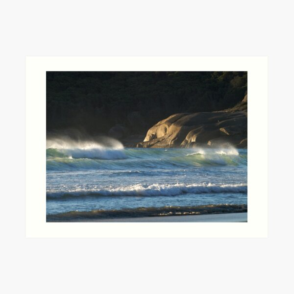 Seascape at Squeaky Beach, Wilsons Promontory Art Print