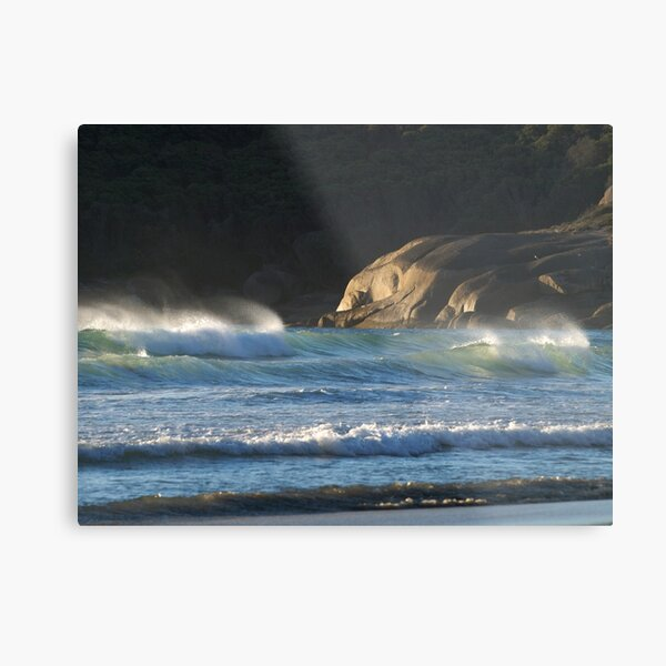 Seascape at Squeaky Beach, Wilsons Promontory Metal Print