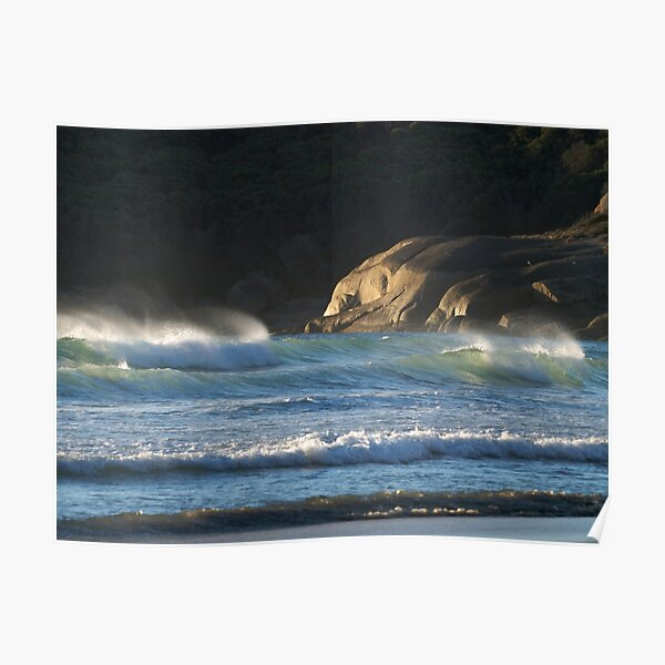 Seascape at Squeaky Beach, Wilsons Promontory Poster