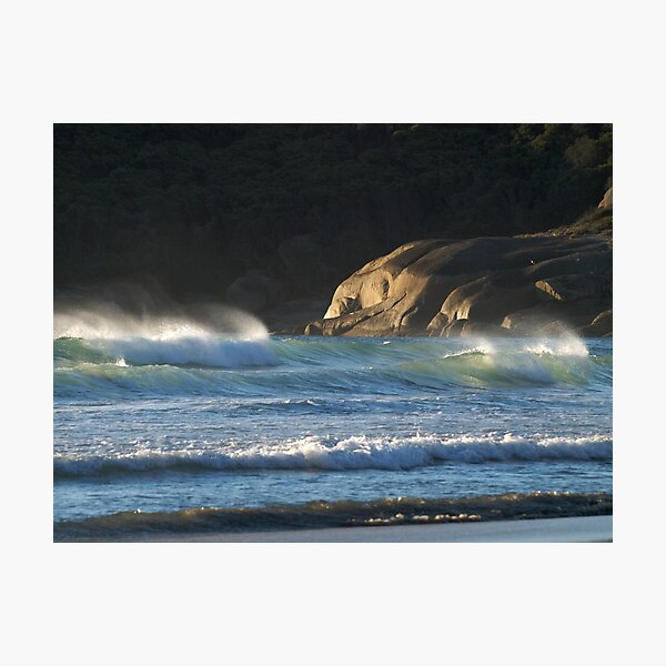 Seascape at Squeaky Beach, Wilsons Promontory Photographic Print