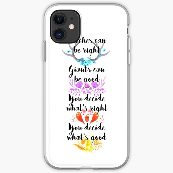 Into the Woods - You Decide iPhone Soft Case