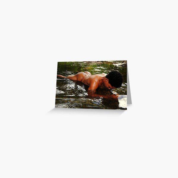 Wet reflection Greeting Card