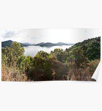 Marlborough Sounds - New Zealand Poster