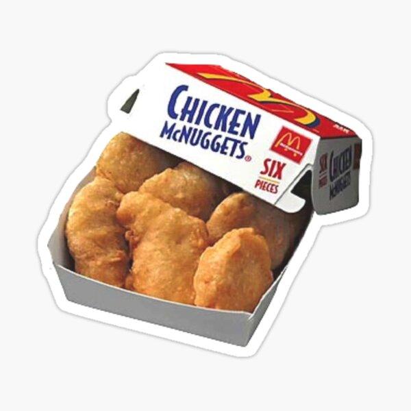 chicken nuggets Sticker