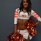 West Tigers Cheerleaders by David Petranker