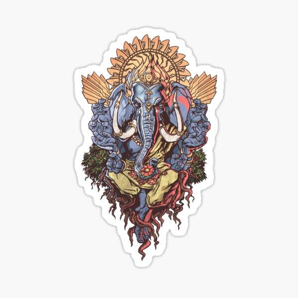 Ganesh ( Transparent Back) Sticker