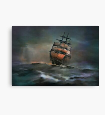 ....ocean....... Canvas Print