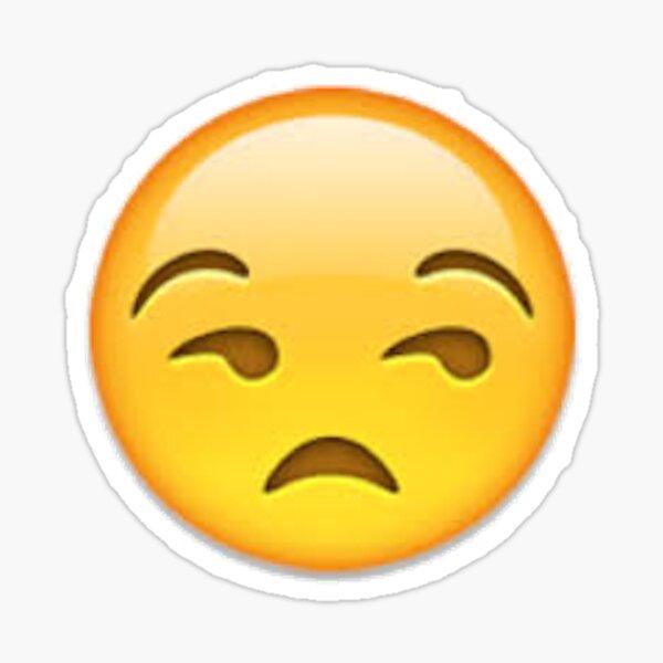 Stickers Sur Le Theme Annoyed Emoji Redbubble