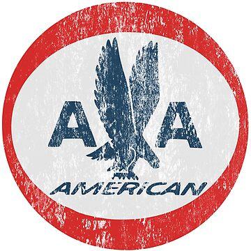 American Airlines Retro Logo Shirt by boscotjones