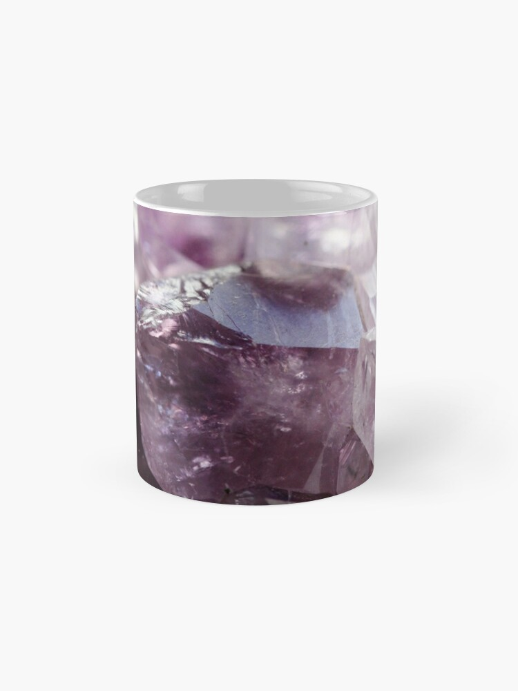Alternate view of Amethyst crystal Classic Mug