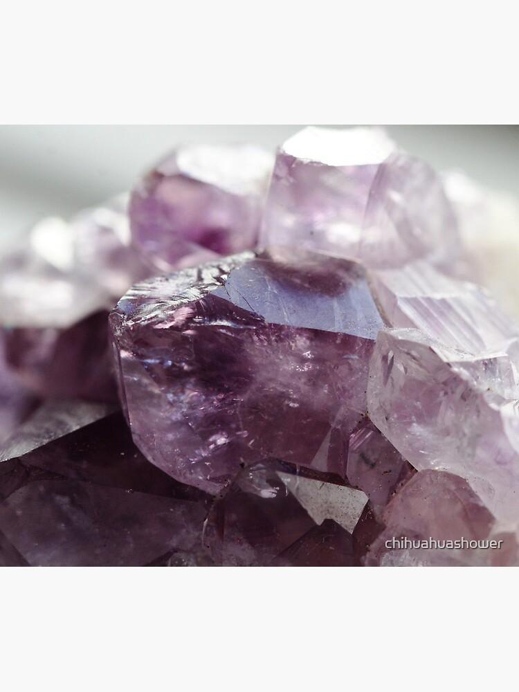 Amethyst crystal by chihuahuashower