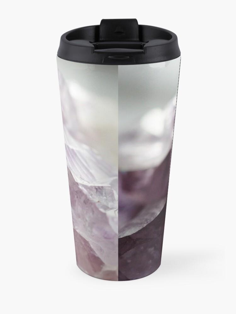 Alternate view of Amethyst crystal Travel Mug