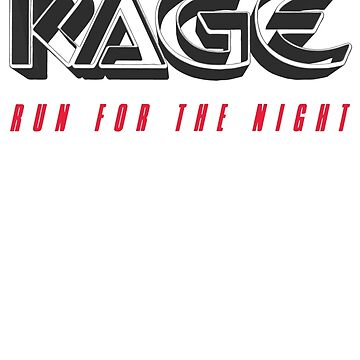 Rage - Run For The Night 1983 by tomastich85