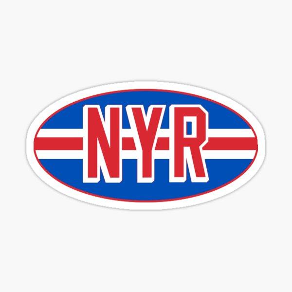 New York Rangers NYR Oval Sticker