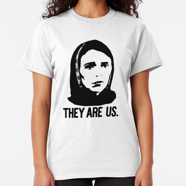 THEY ARE US Jacinda Ardern Prime Minister in hijab Classic T-Shirt