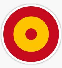 Pegatina Roundel de la Fuerza Aérea Española