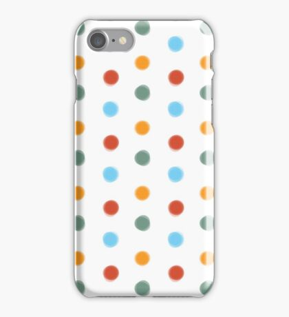 Painted Polka Dots iPhone Case/Skin