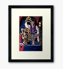 Time Travelers Framed Print