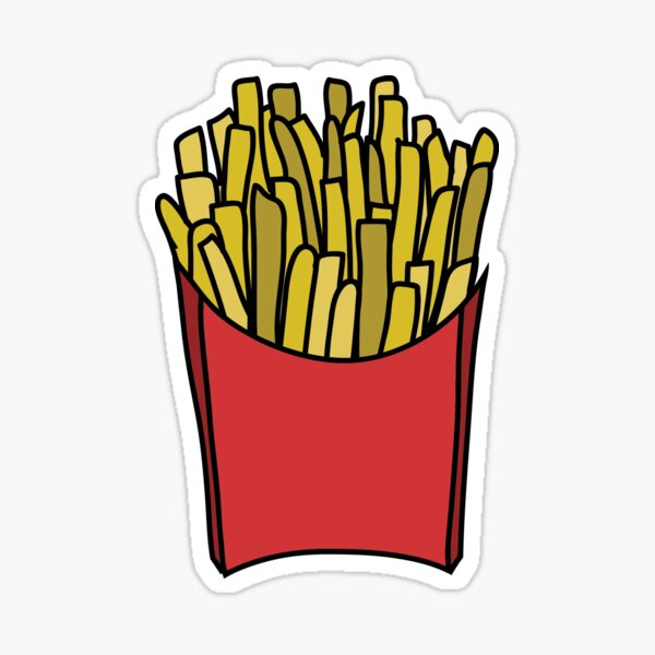 My Fries  Sticker