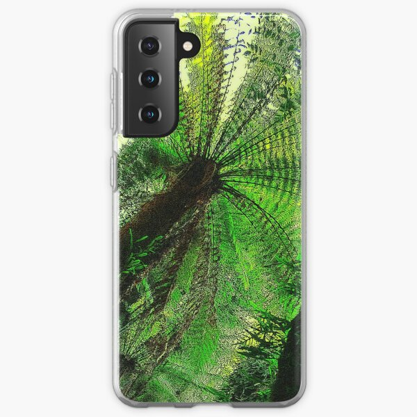 Spinning in the forest Samsung Galaxy Soft Case