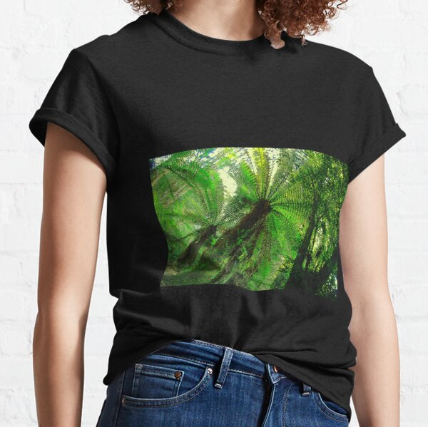Spinning in the forest Classic T-Shirt