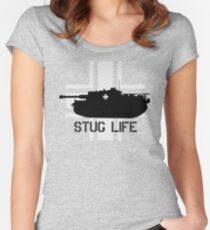Stug Life Women's Fitted Scoop T-Shirt