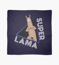 Super Lama Superhero Animal Gift Comic Scarf