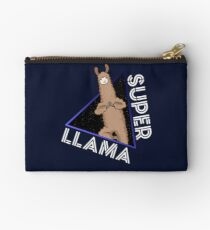 Super Llama Superhero Animal Gift Comic Studio Pouch