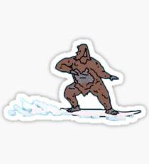 Surfing Sassy  Sticker