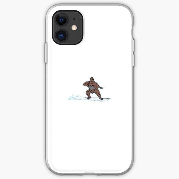 Surfing Sassy  iPhone Soft Case