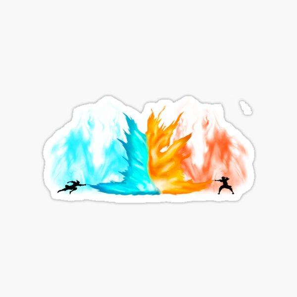 Avatar - Agni Kai Sticker
