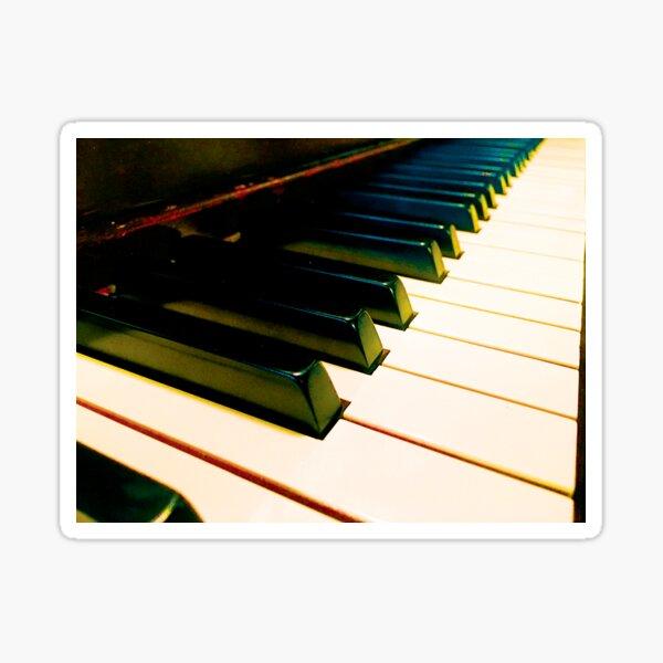 Cool Piano Keys by Jerald Simon (Music Motivation) - musicmotivation.com Sticker