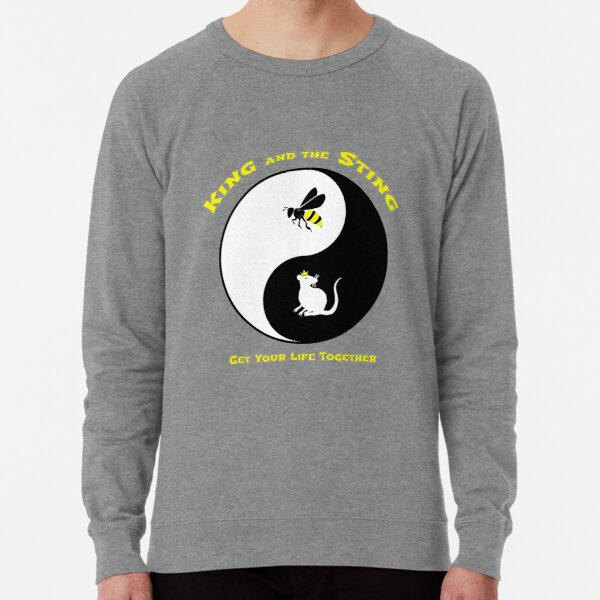 King and the Sting Lightweight Sweatshirt
