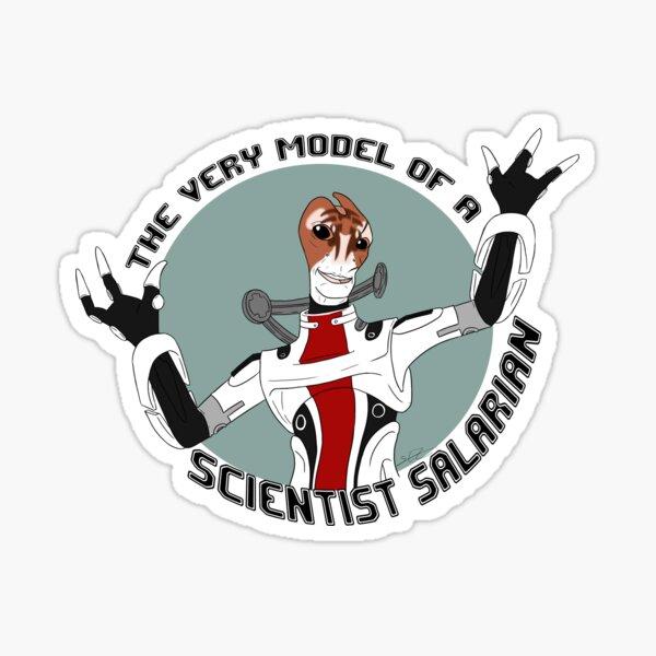 Scientist Salarian Sticker