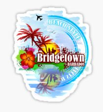 Bridgetown Barbados Sticker