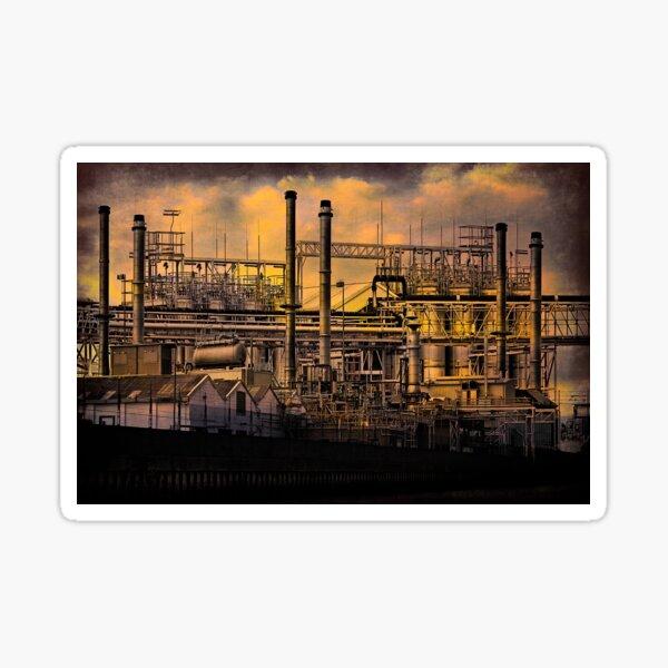 Industrial Sunset Sticker