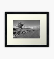 Mullaghmore mountain view Framed Print