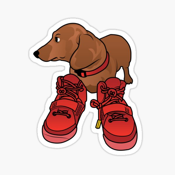 Jeff in Red Octobers Toon Sticker