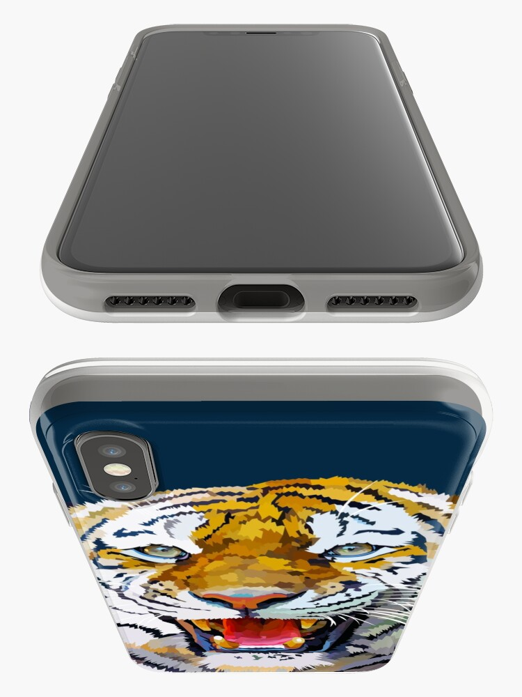 Alternate view of Roaring tiger iPhone Case & Cover