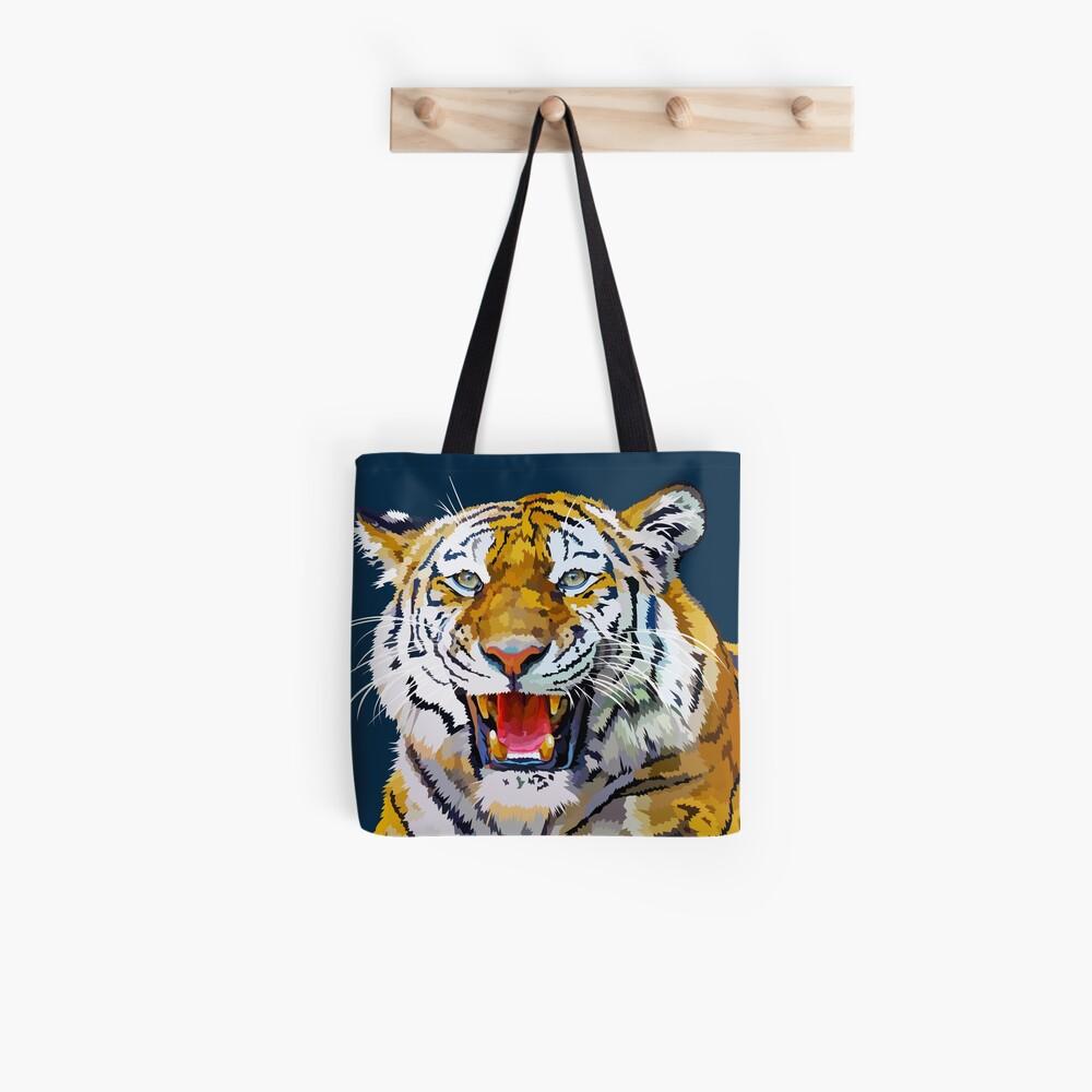 Roaring tiger Tote Bag